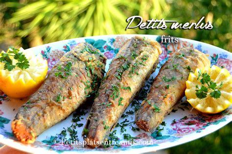 petit plat facile à cuisiner recette de petits merlus frits petits plats entre amis
