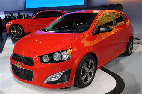 2013 Chevrolet Sonic Rs Is The Hot Hatch Enthusiasts Have