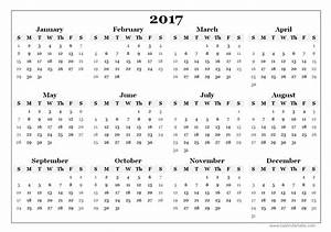Aussaatkalender 2017 Pdf : new 2017 printable calendars print blank calendars ~ Whattoseeinmadrid.com Haus und Dekorationen