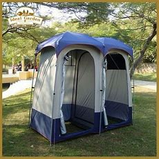 Double Shower Tent  Camping  Outdoor Bathroom Shower