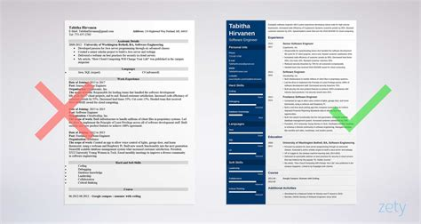 software engineer cover letter sample writing guide