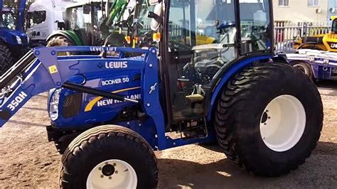 New Holland Boomer 50 Cw Lewis 35qh Loader Youtube