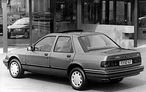 Ford Sierra Sedan Specs - 1990  1991  1992  1993