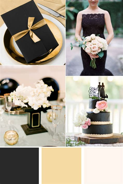 29 luxurious black and gold wedding ideas elegantweddinginvites com blog
