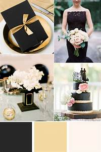 29 luxurious black and gold wedding ideas With black and gold wedding ideas