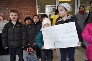 Students, Parents Ask for a Safer Route to School | The ...