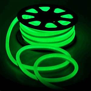 Flex LED Neon Rope Light Green 50 Holiday Decorative Lighting