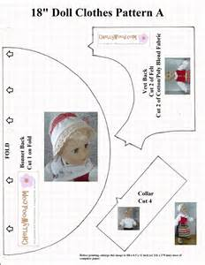 Free Printable 18 Doll Clothes Patterns