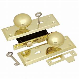 Keyed Knob Mortise Lockset