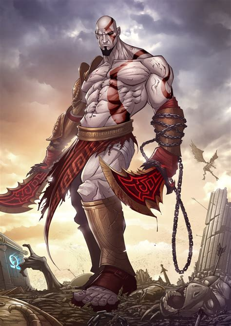 An Epic Gallery Of God Of War Fan Art
