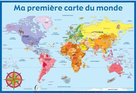 Carte Du Monde à Imprimer A3 by Enfants Du Monde Le De Clochette