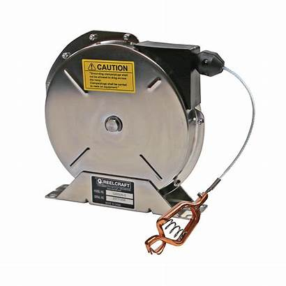 Reel Retractable Spring Grounding Heavy Duty Reelcraft