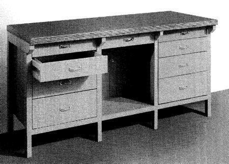 workbench vintage woodworking plan woodworkersworkshop
