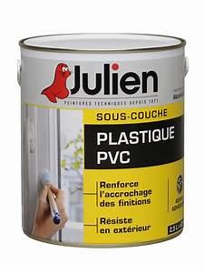 sous couche plastique pvc peintures julien With peinture julien sous couche