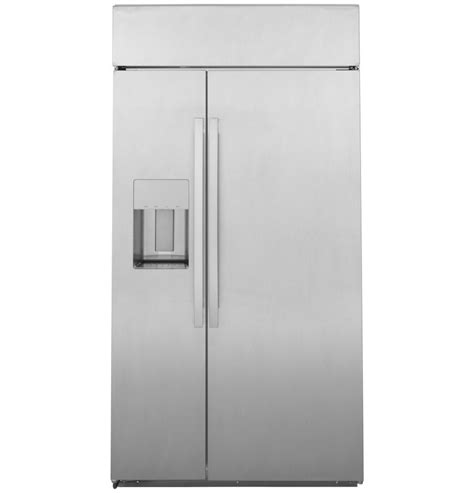 general electric psbysnss ge profile series  built  side  side refrigerator