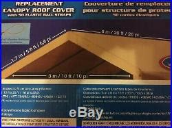 carport replacement cover costco canopy canvas roof top car port shelter patio awnings