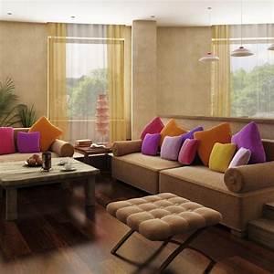 Deco Mural Salon : d coration salon ooreka ~ Teatrodelosmanantiales.com Idées de Décoration
