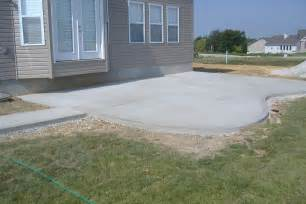 concrete ideas for backyard concrete contractor winnipeg cement stone age concrete