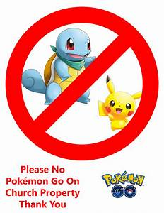 has your church been overrun by pokemon