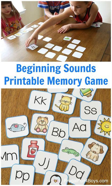 printable alphabet memory game cards letter sound