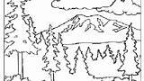 Coloring Mountain Splash Canyon Grand Smoky Mountains Printable Getcolorings Range Getdrawings Colorings sketch template