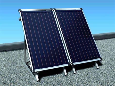 solarkollektoren typen aufbau effizienzhaus