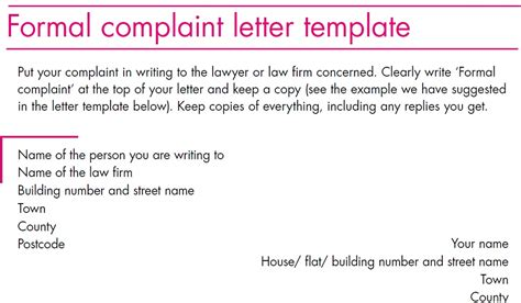 complaint letter to landlord template costumepartyrun