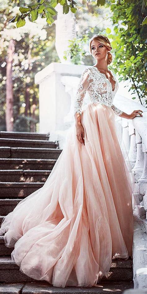 pink wedding dresses   immediatly wedding