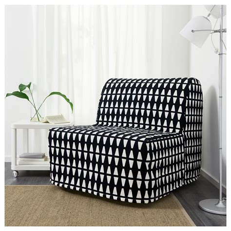 lycksele chair bed mattress lycksele h 197 vet chair bed ebbarp black white ikea