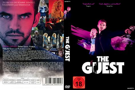 this is for the cover the guest dvd cover label 2014 r2 german custom