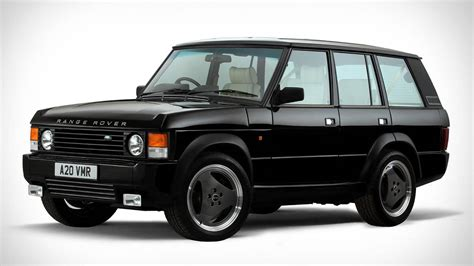 red land rover old the range rover chieftain is a classic restomod with a
