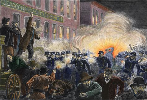 Remembering The Haymarket Riot  History In The Headlines
