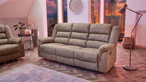 Sofa Grau Braun by Sofa Cleveland Sessel Relaxsessel 3 Sitzer Funktion