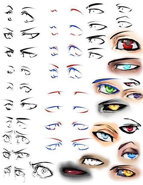 Anime Eyes From The Side Anime Eyes From The Side Semi Realistic Anime Eye