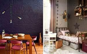 Mur En Brique Intérieur : un mur en briques oui mais peint mademoiselle claudine le blog ~ Melissatoandfro.com Idées de Décoration