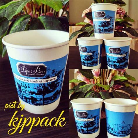 jual cup paper 8oz atau gelas kertas minuman panas
