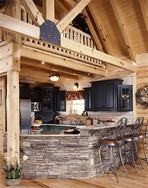 17 Best Images About Log Cabin Kitchen Cabinets  Upstairs