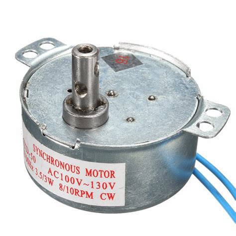 Synchronous Motor by 110v Ac 8 10rpm Cw Synchronous Motor Alexnld