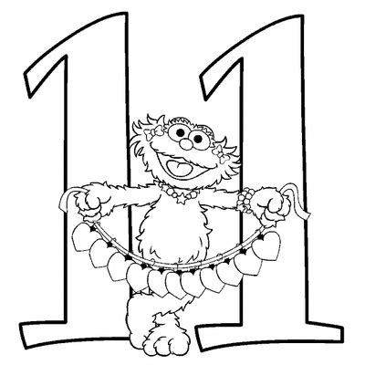 number 11 numbers to color free printable numbers 787 | 0423b425c8862e198d9a1a16251bb256