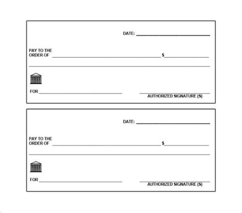 blank check templates  microsoft word website
