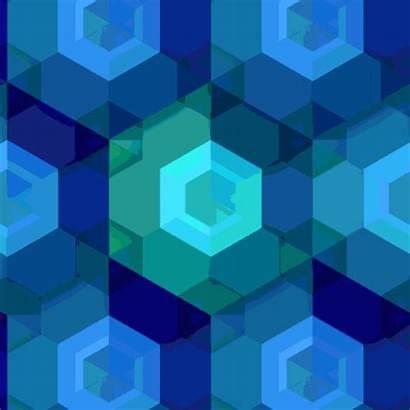 Gifs Infinity Does Hypnotic Designtaxi Hexagon Eyes