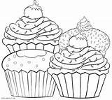Blueberry Muffin Drawing Coloring Pages Getdrawings sketch template