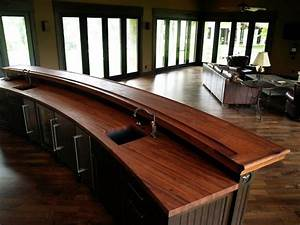 DeVos Woodworking Mesquite Bar Top In Texas Traditional