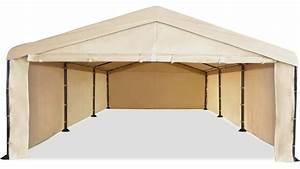 Caravan Canopy 10 X 20 Domain Carport Garage With Sidewall Enclosure Kit
