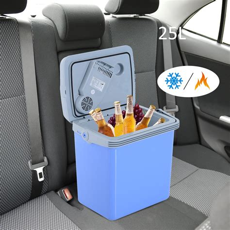 outsunny  quart  acdc thermoelectric portable cooler
