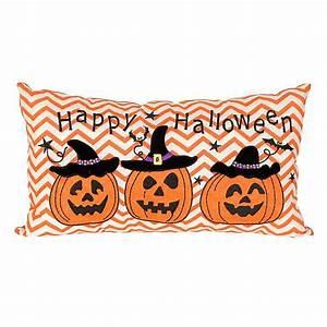 Jack O' Lantern Happy Halloween Pillow Kirklands