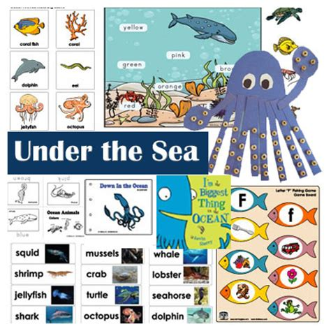 the sea and activities crafts and for 520 | UnderSeaKS 0