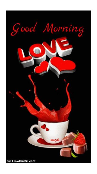 Morning Romantic Gifs Coffee Valentines Quotes Valentine