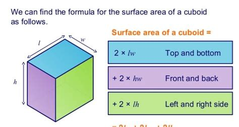 Java Program To Total Surface Area Of Cuboid Programs