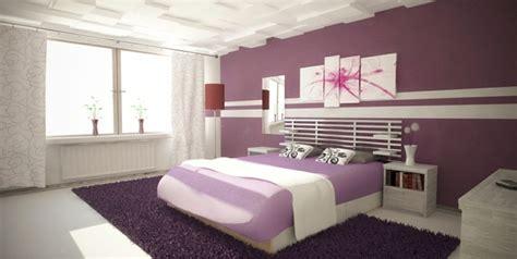 chambre mur violet déco mur chambre à coucher créer un mur d 39 accent unique